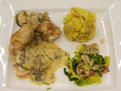 Chicken with Tarragon and Wild Mushrooms