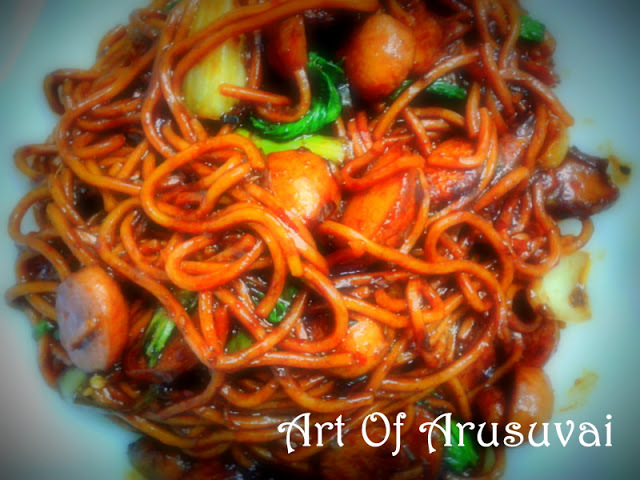^ BLACK PEPPER FRIED NOODLES / MEE GORENG BASAH LADA HITAM ^.