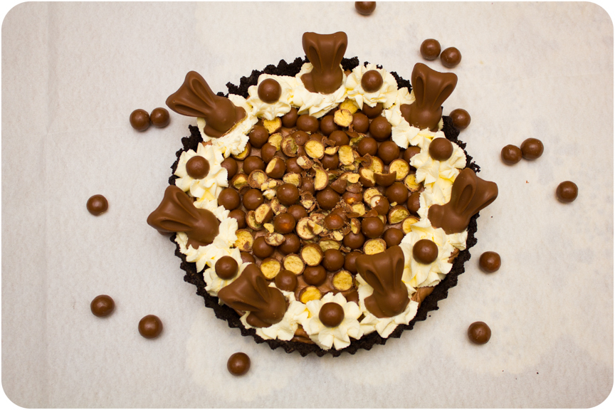 Malteser Bunny Chocolate Malt Mousse Pie