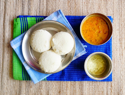 How to make soft steamed Idlis