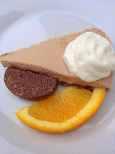 Recipe: Chocolate Orange Cheesecake