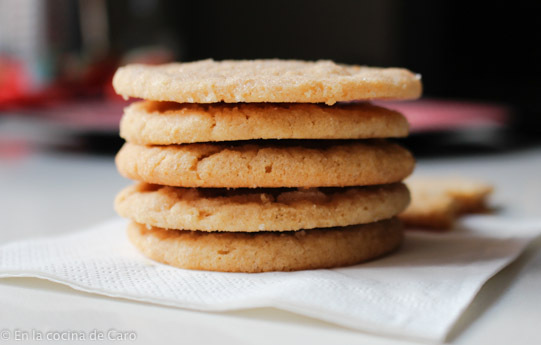 Galletas de mantequilla de maní. Peanut Butter Cookie