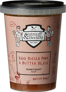 Watmuff & Beckett BBQ Pulled Pork & Butter Bean Soup review