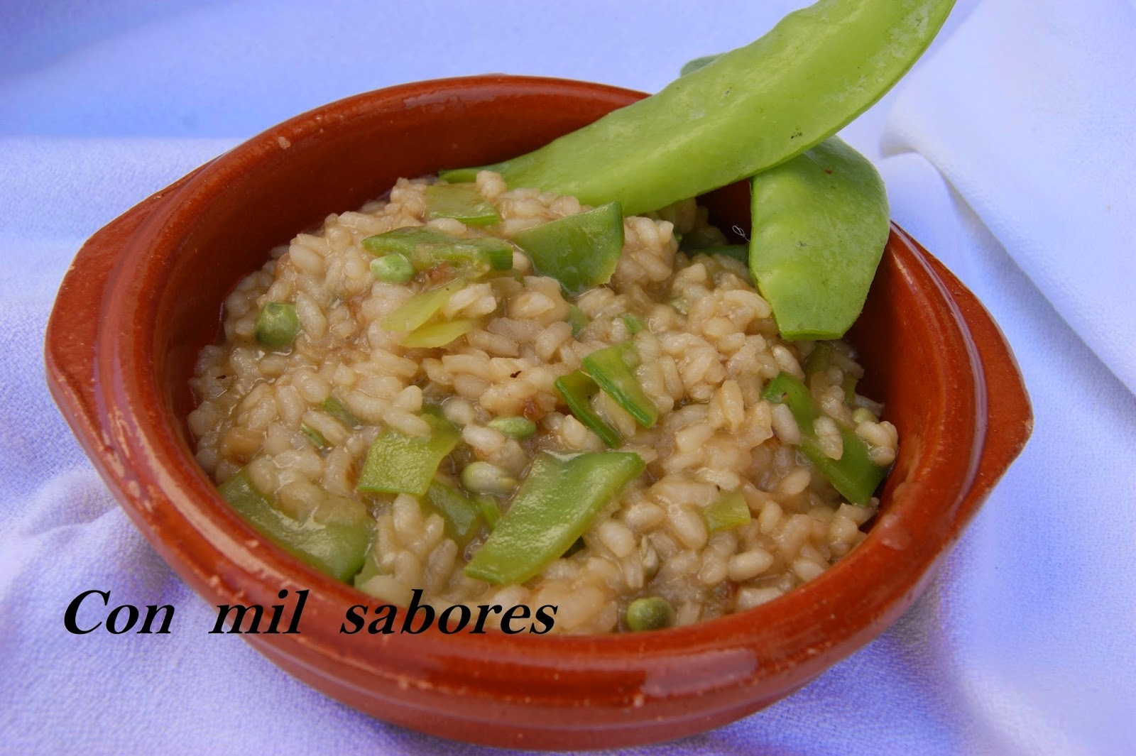RISOTTO DE TIRABEQUES