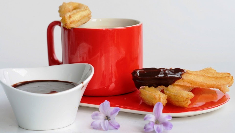 Receta: Churros con chocolate