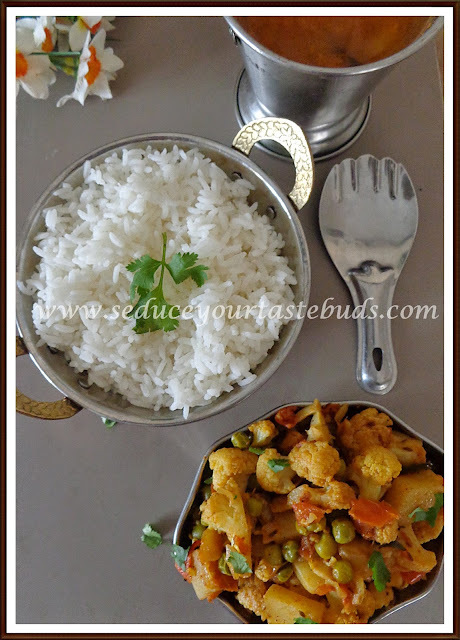 Aloo Gobi Masala | Cauliflower Potato Curry