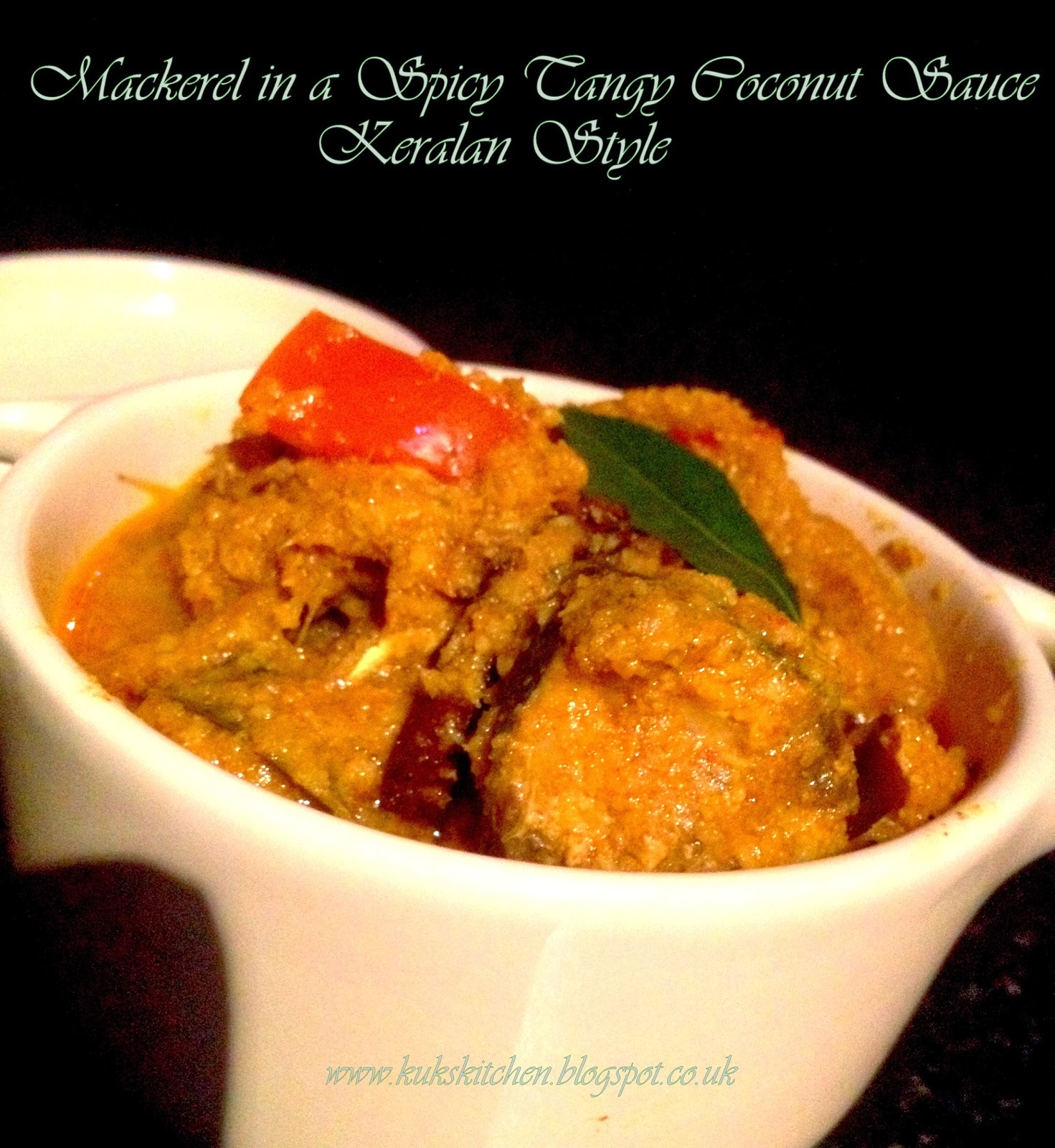 Ayala- Mangatholi Curry  |  Mackerel in a Spicy Coconut N' Mango sauce  | Kukskitchen