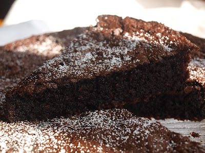 Chocolate-Olive oil-Cake