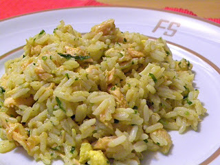 Kedgeree de Salmão