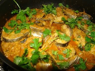 Fish In coconut gravy