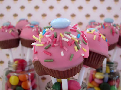 Cupcakes Cake Pops