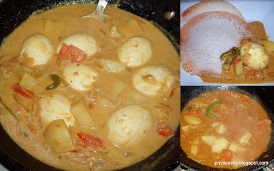 Motta curry / Egg curry