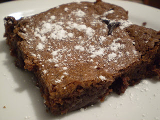 Brownies med rödtjut