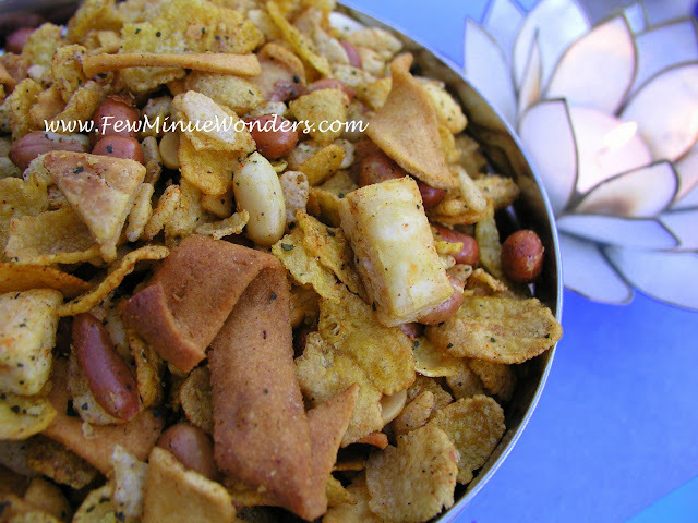 Healthy Spicy Corn Flakes Mixture