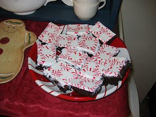 The tastiest peppermint brownies I have ever tasted