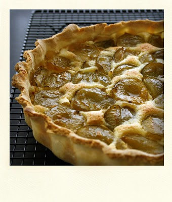GREENGAGE TART