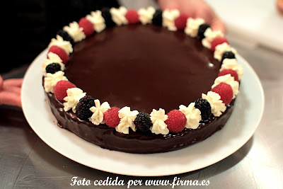 TARTA DE MASCARPONE Y CHOCOLATE