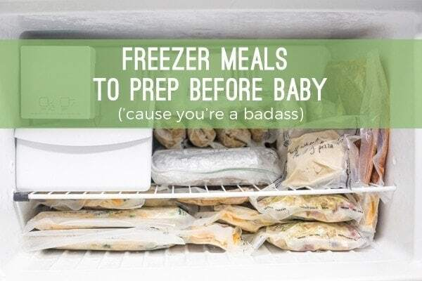 Freezer Meals to Prepare for Baby: