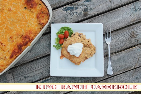 Taco Chicken & King Ranch Casserole