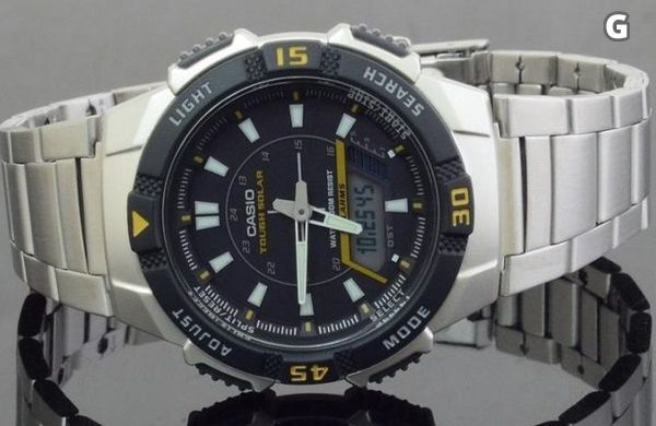 Casio AQS800WD Tough Solar. Fri frak & Snabb leverans