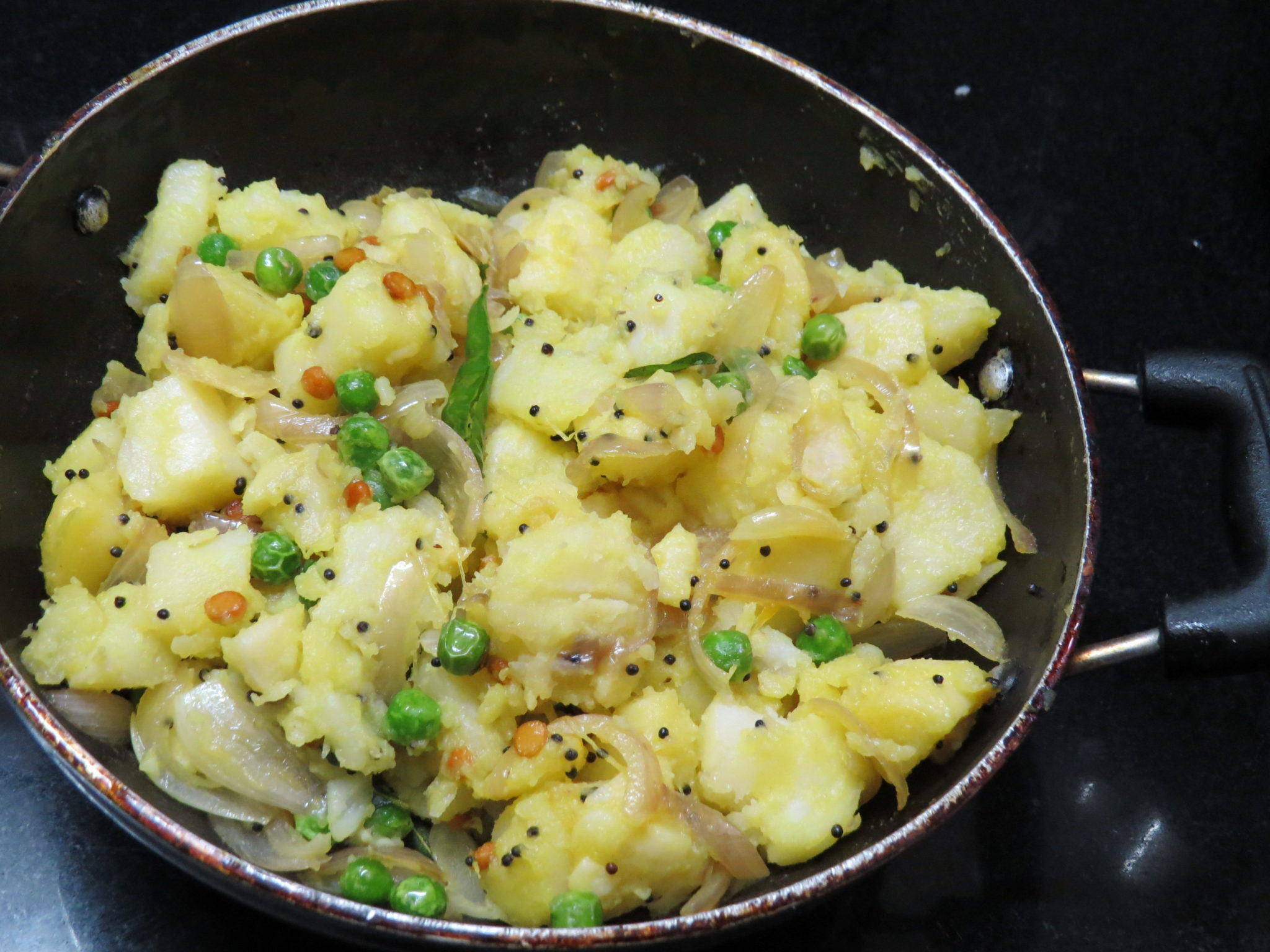 Potato Curry for Masala Dosa… Also for Roti and Puri