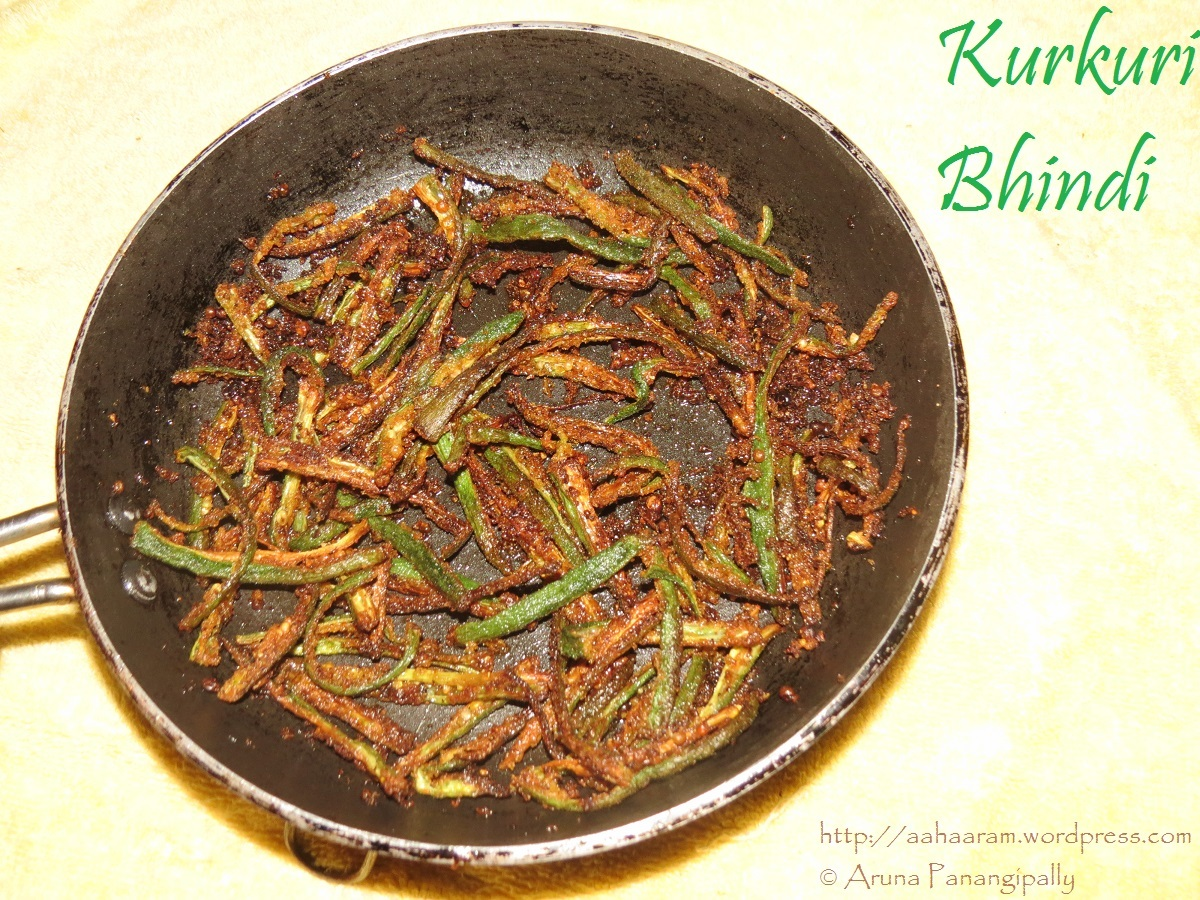 Kurkuri Bhindi (Spicy, Crispy Okra) – Low Oil Version