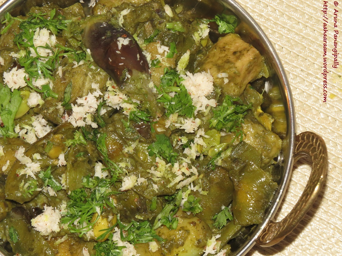 Undhiyu – A Medley of Winter Vegetables Spiced with a Fresh Coriander, Garlic and Ginger – A Special from Gujarat