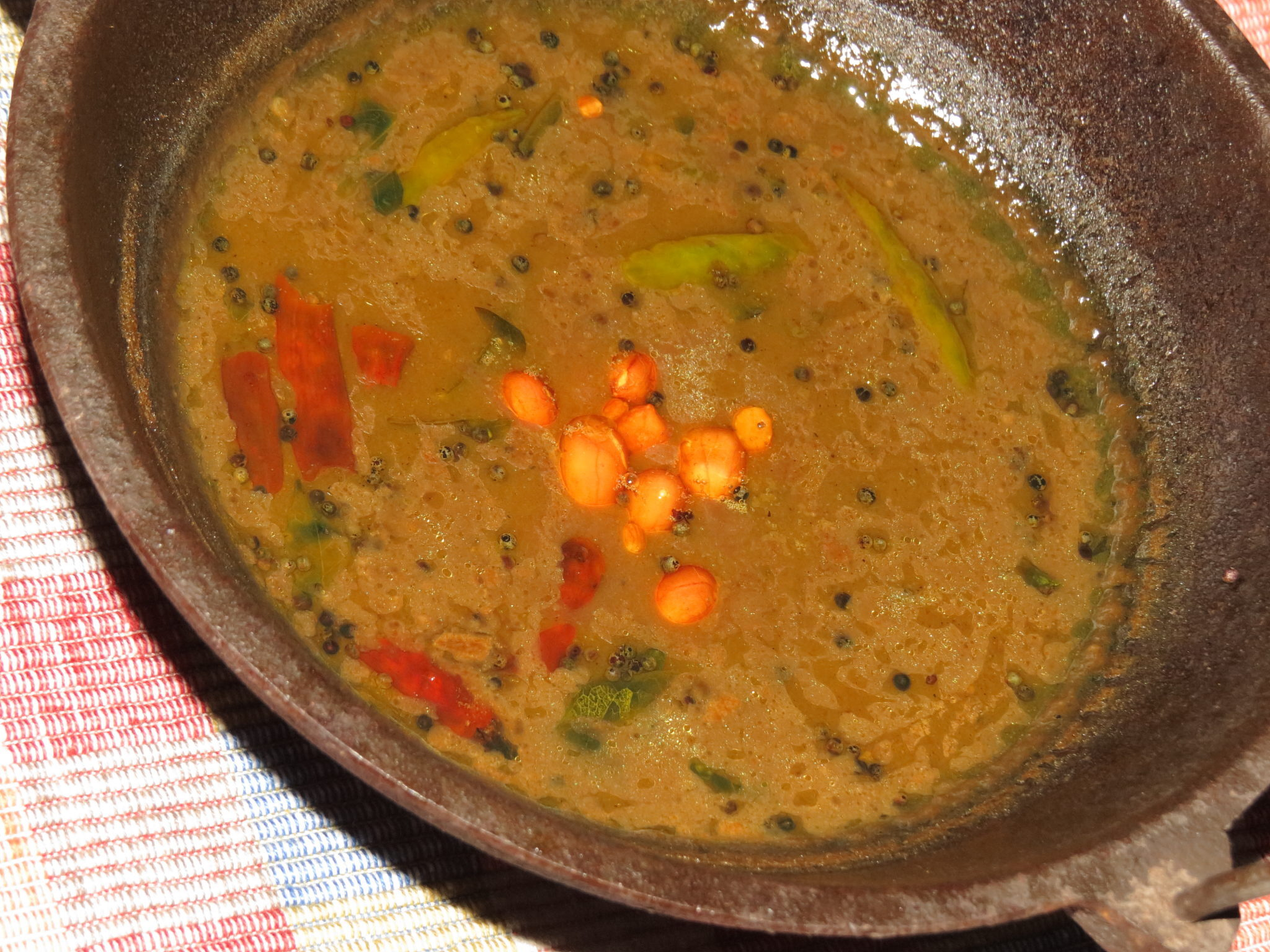 Pulihora Pulusu – A Recipe from Andhra Pradesh and Telangana
