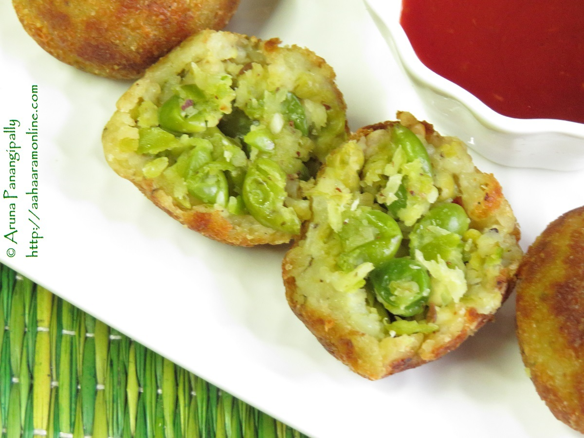 Vatana Pattice or Green Peas Patties – Guest Post for Sandhya of IndFused