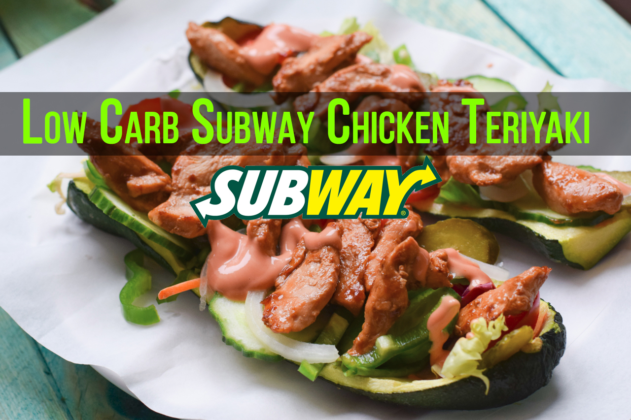 Low Carb Subway Chicken Teriyaki Baguette – ultra lecker!