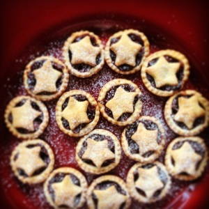 Mini Cranberry Mince Pies