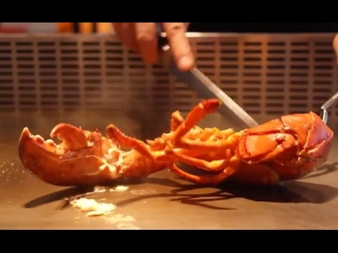 Teppanyaki Style Cooking | Delicious Lobster Vegetable Seafood and Beef Steak | Amazing Foods
