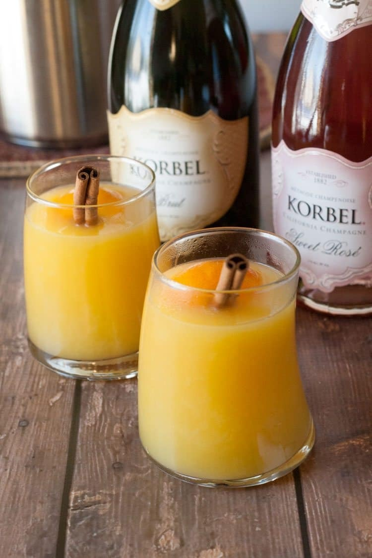 Recipe Mimosa Cocktail – Warmed and Mulled