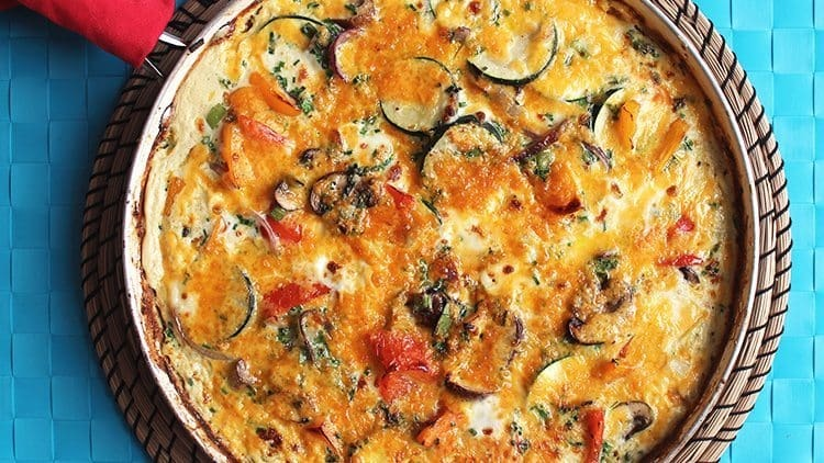 Sweet Potato Frittata Recipe