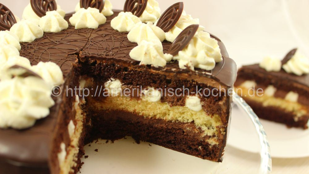 Chocolate Cream Cake | Festliche Schokoladentorte