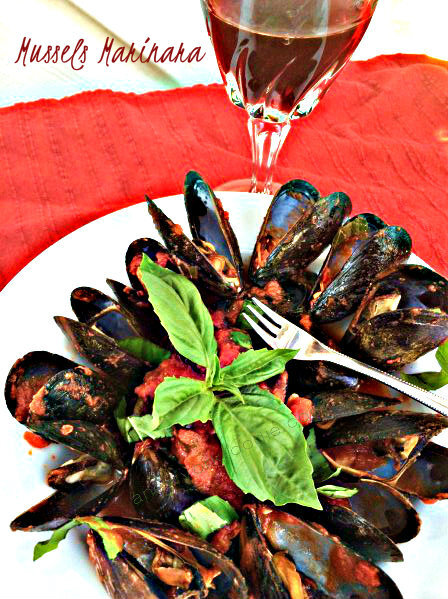 Easy Mussels Marinara