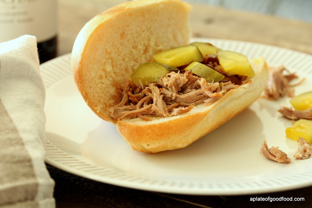 Slow Cooked Beer Braised Pulled Pork