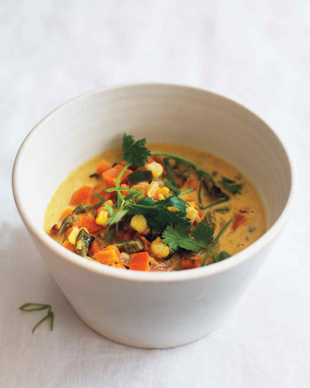 Dr. Weil's Sweet Potato-Poblano Soup