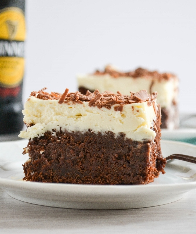 Devil's Food Poke Cake