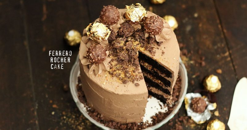Ferrero Rocher Layer Cake
