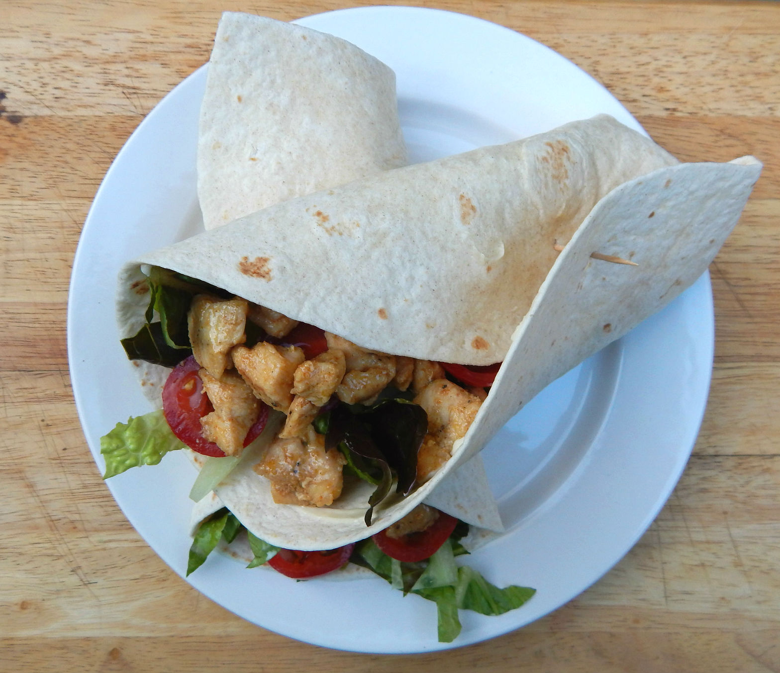 What's Cooking – Quick and Easy Chicken Wraps