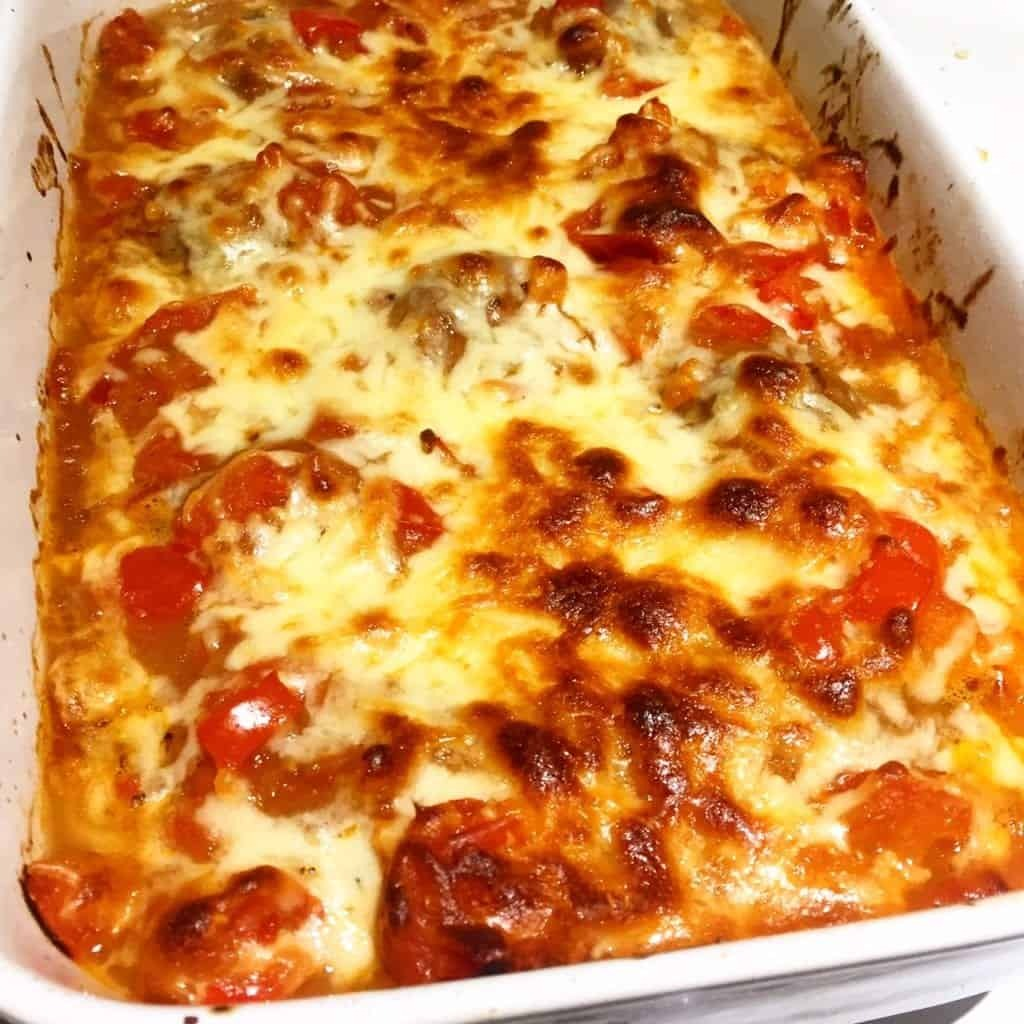 Syn Free Cheesy Meatball Bake (HexA) | Slimming World
