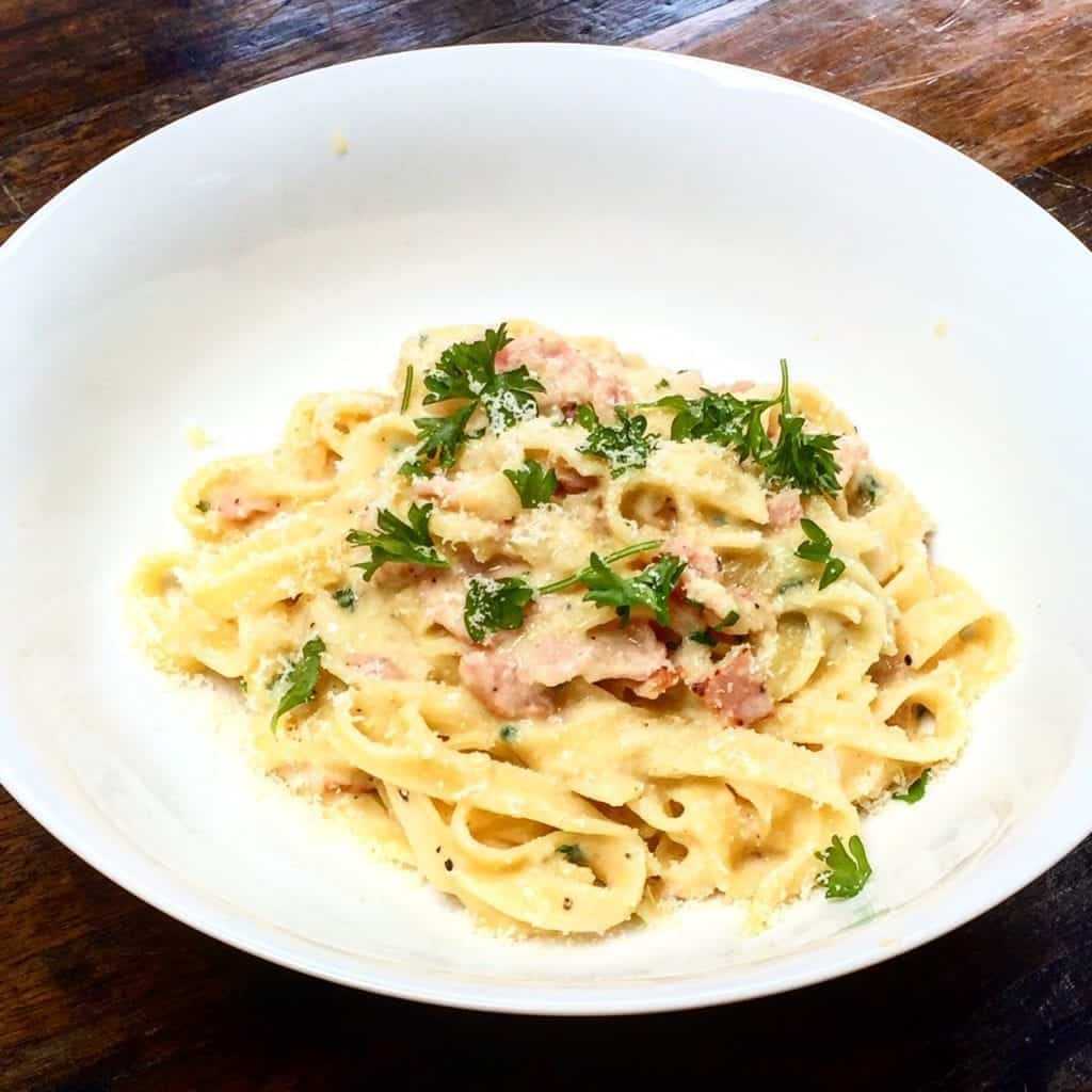 Syn Free Spaghetti Carbonara | Slimming World