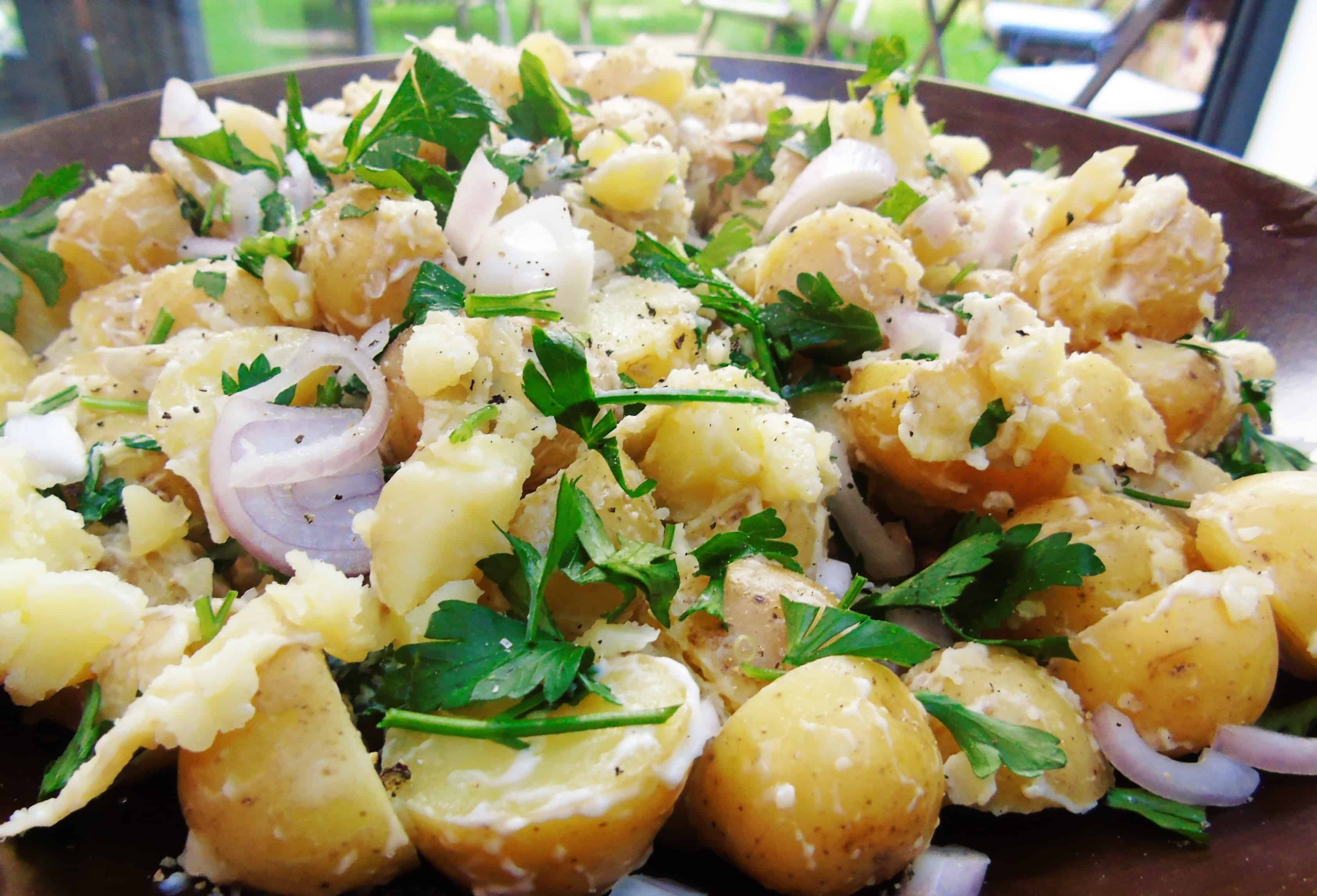 Low Syn Potato Salad | Slimming World