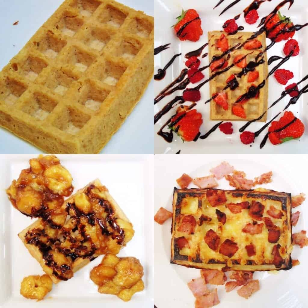 Syn Free HexB Waffles Three Ways | Slimming World