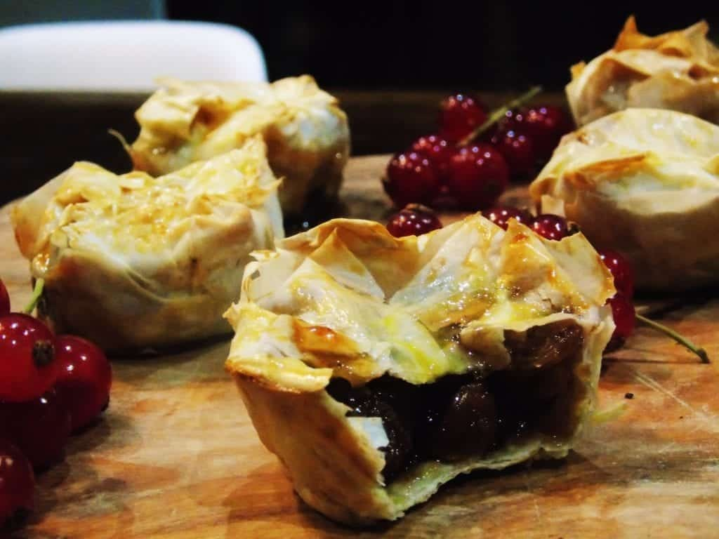 Low Syn Filo Pastry Mince Pies | Slimming World