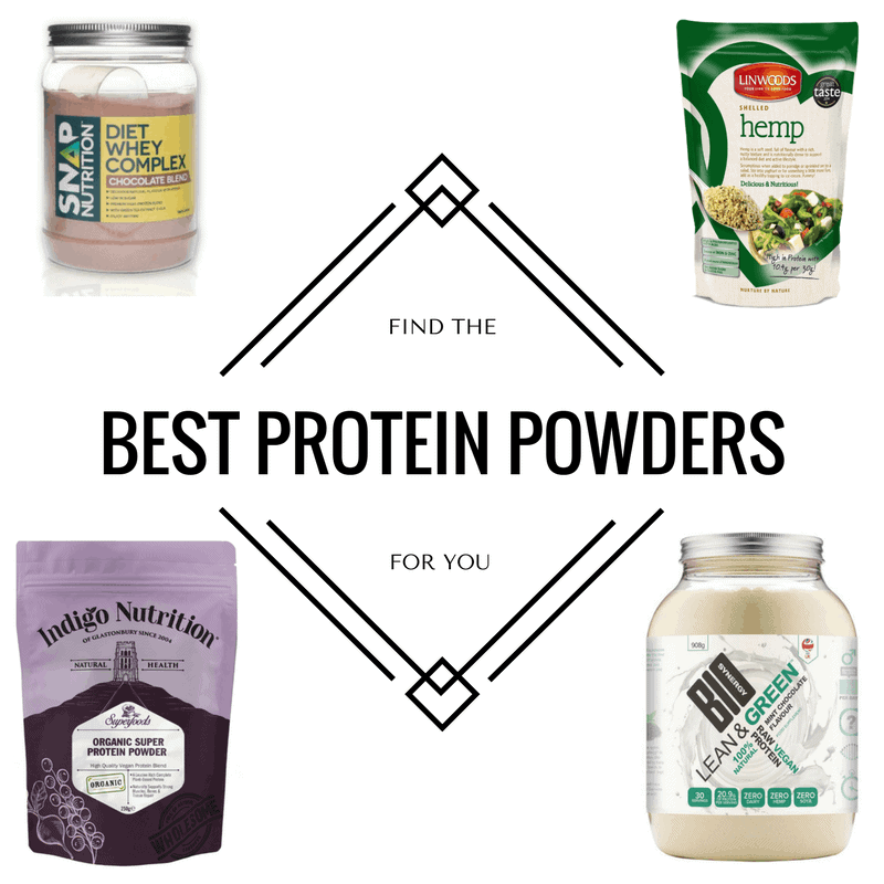 Find The Best Protein Powders For You