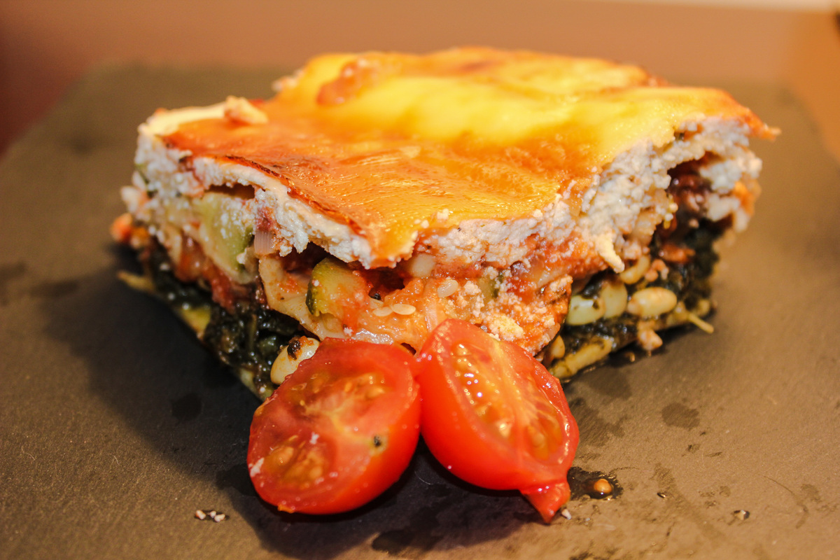 Kale Lasagne Recipe