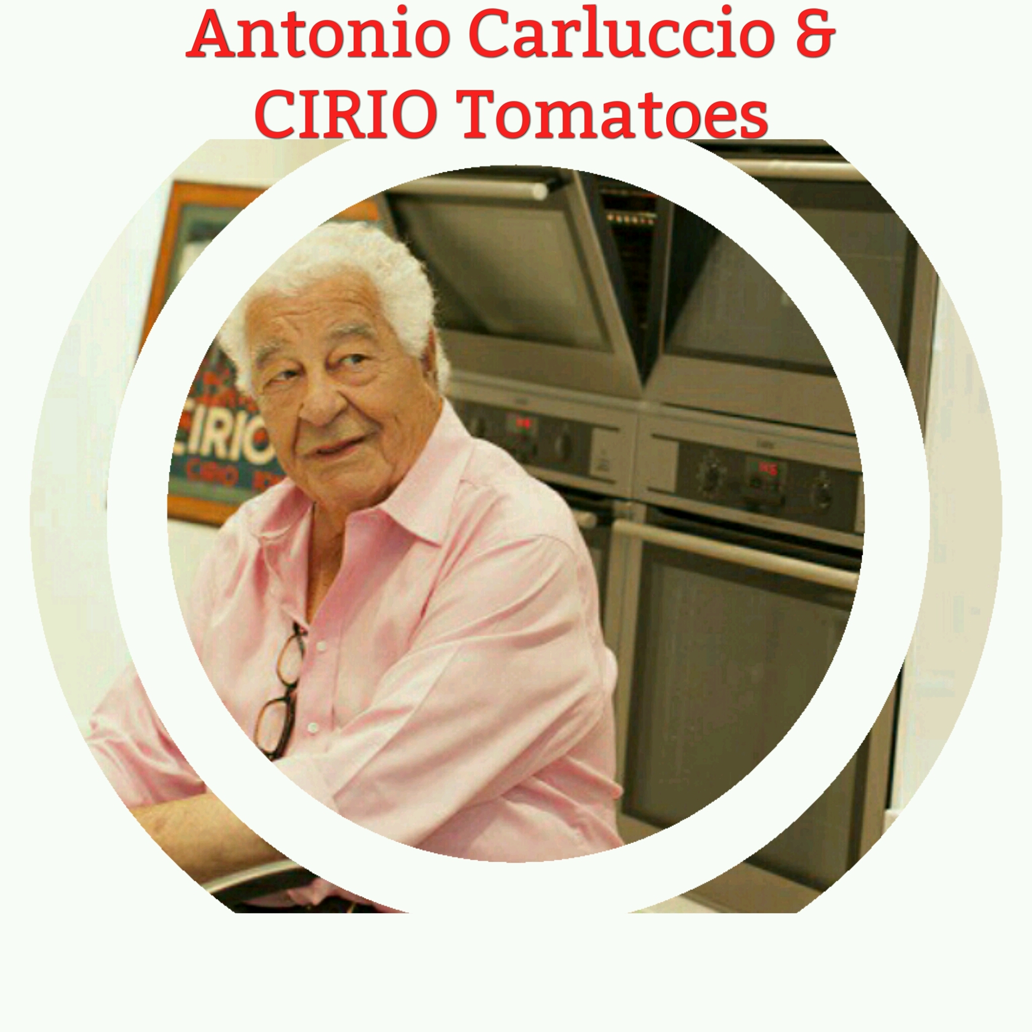 an evening with antonio carluccio and cirio tomatoes