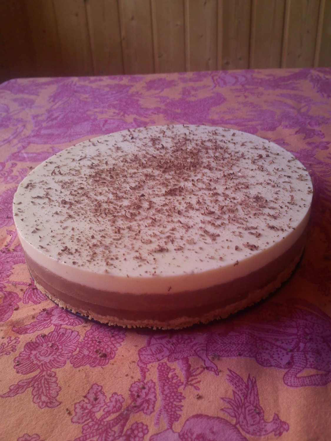 Tarte de 3 Chocolates